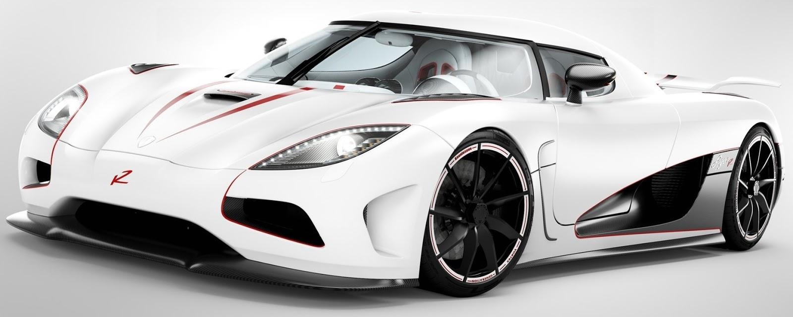 Gambar Mobil Ferrari Warna Putih