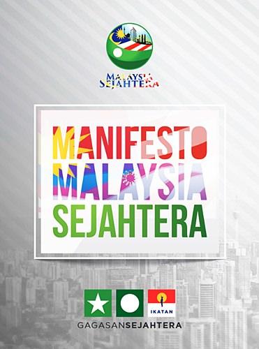 manifesto Malaysia Sejahtera