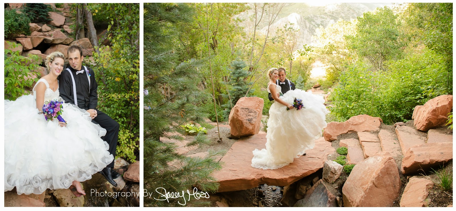 Salt Lake Wedding Photographer | Louland Falls, JT and Stef