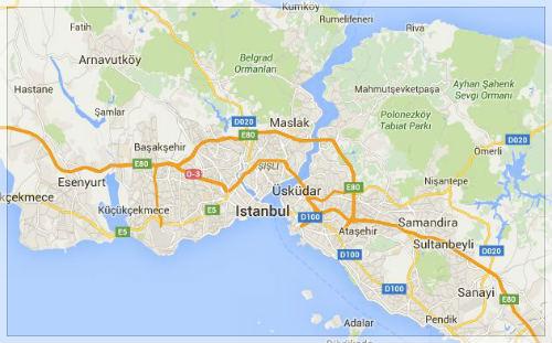 Map Turki Umroh Plus 2016
