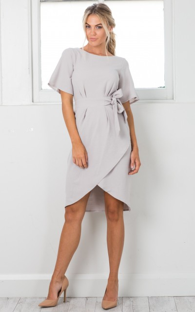 Grey Dress Here