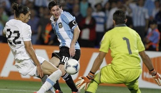 Tiền đạo xuất sắc Lionel Messi.