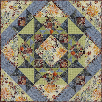 Quilt Pattern Exotic Blossom My Quilt Pattern