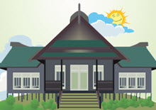 Rumah Adat Kalimantan Utara