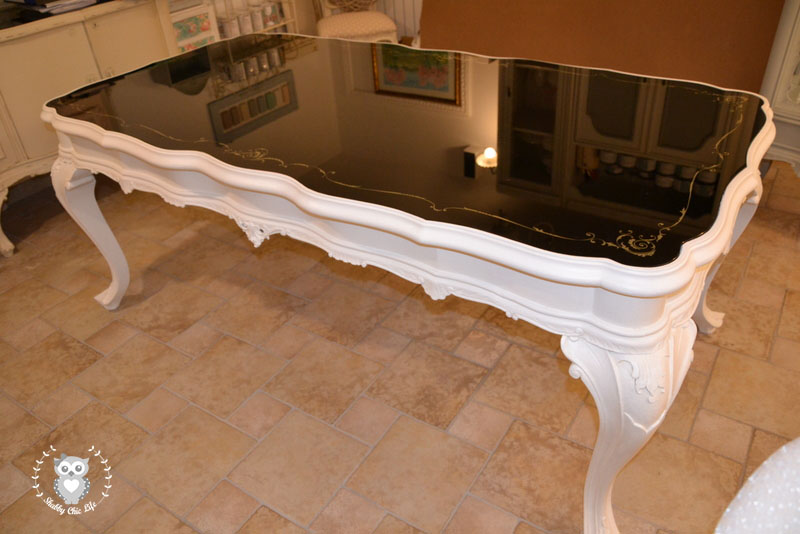 Tavolo Chippendale Bianco.Shabbychiclife Chippendale Prima E Dopo