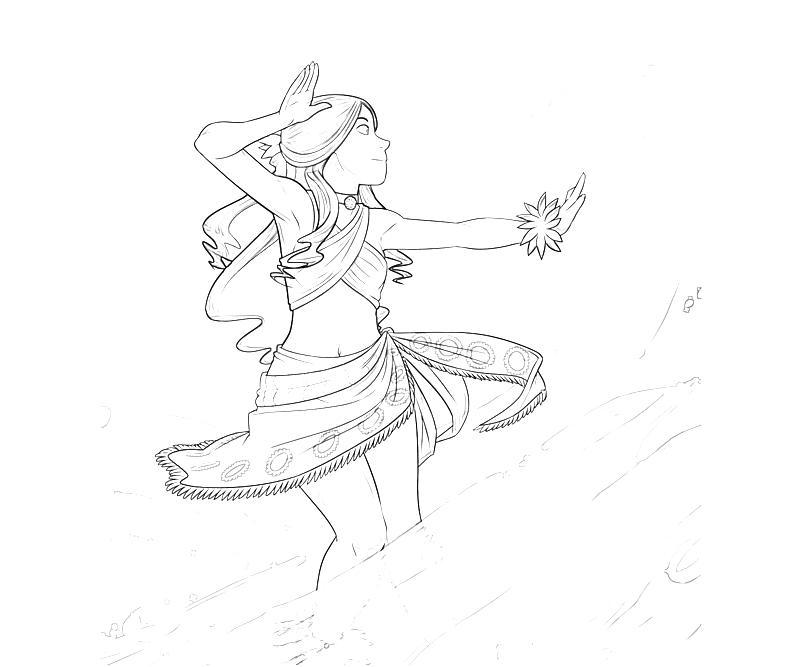 Avatar Katara Ability Mario