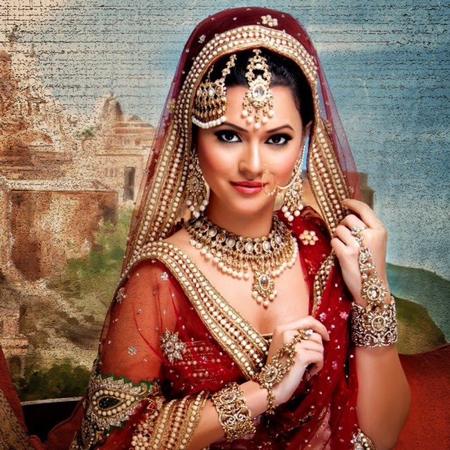 Bridal Jewelry Indian Wedding: Bridal Jewellery Set Collection 2014