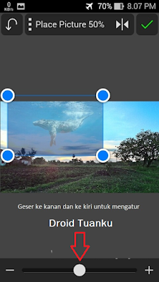 Cara Edit Foto Background Gajah, Ikan Paus di Android