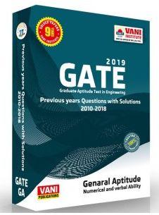 Download Gate 2019 General Aptitude Vani Publication Book Free Pdf