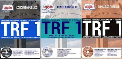 Apostilas Concurso TRF 1ª Região 2017 Analistas e Técnicos Judiciários