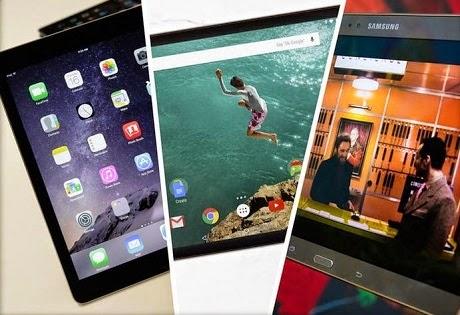 ialah iPad paling tipis dan paling kencang untuk dikala ini iPad Air 2 vs Nexus 9 vs Galaxy Tab S