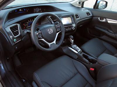 Honda Civic LXS interior