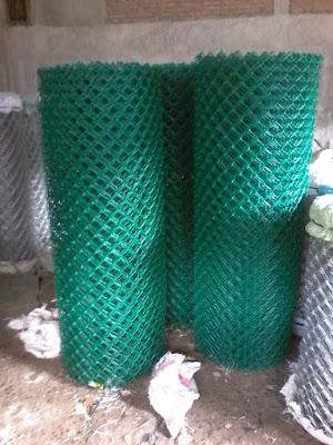 Produksi Kawat Harmonika PVC Murah