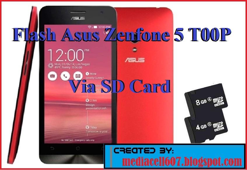 Flash Asus Zenfone 5 Via SD Card (Kartu Memory) ~ Media Cell