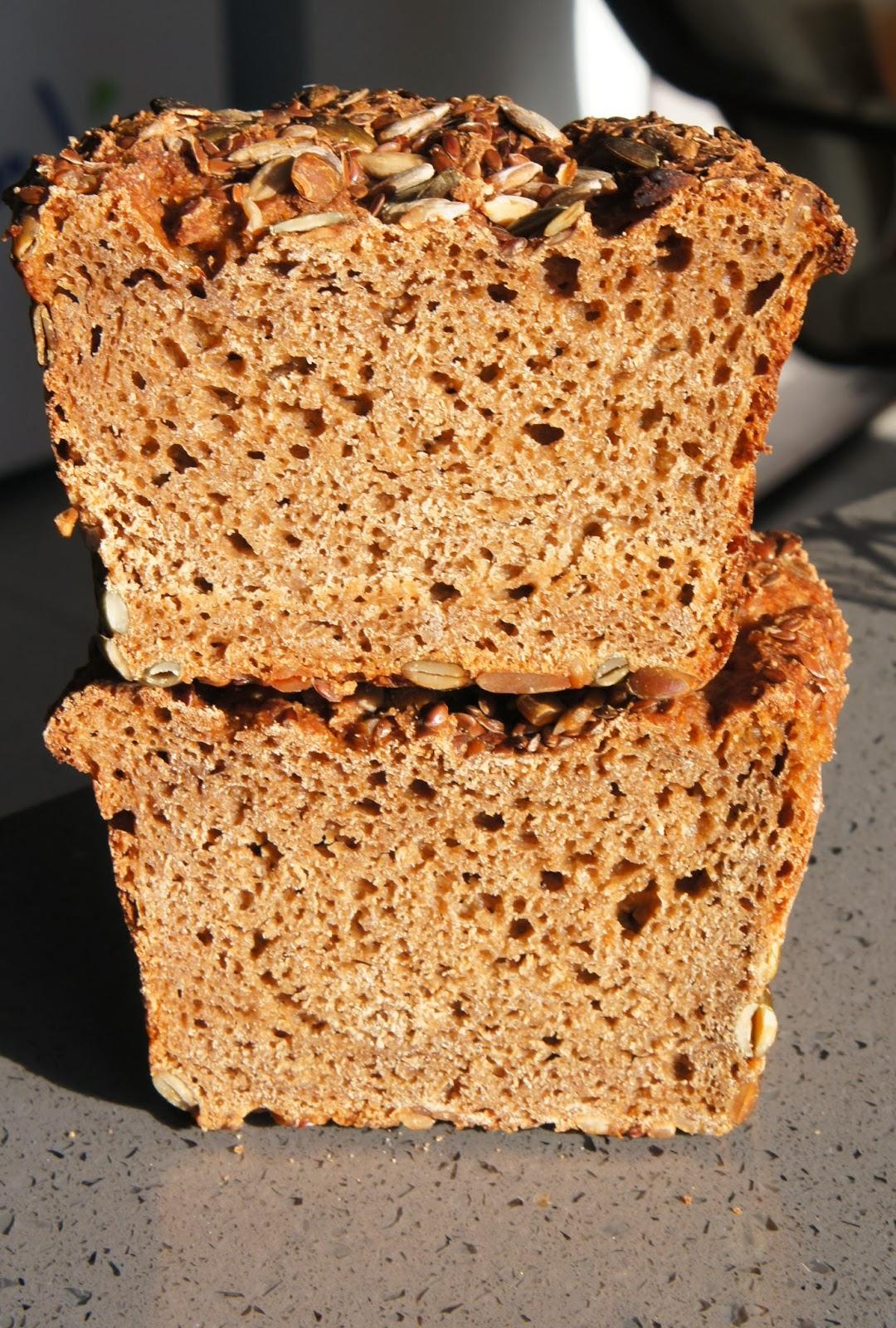 ржаной хлеб, жомашней выпечки