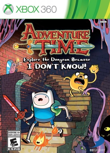 Adventure Time Explore The Dungeon Because I DONT KNOW - Portada
