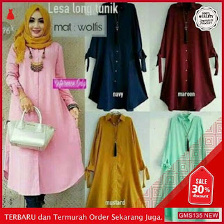 GMS135 RFXN135L45 Lesa Long Tunik Xl 1r Dropship SK0574273149