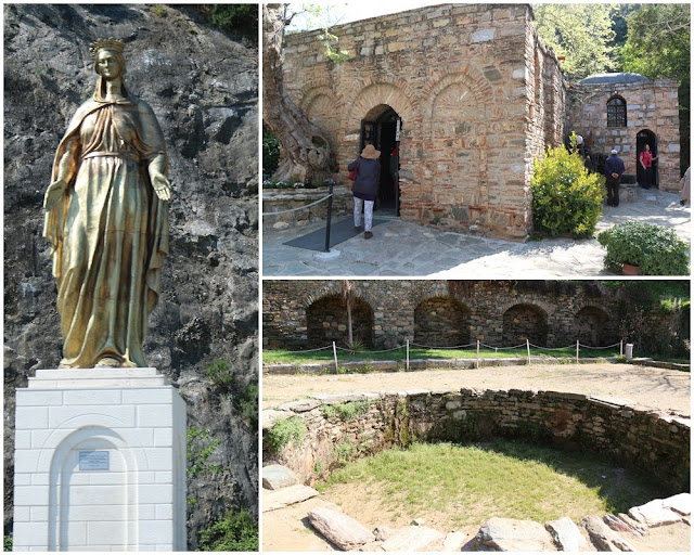 Virgin Mary's House near Ephesus in Turkey where it was believed that Virgin Mary spent her days in the ancient city of Ephesus