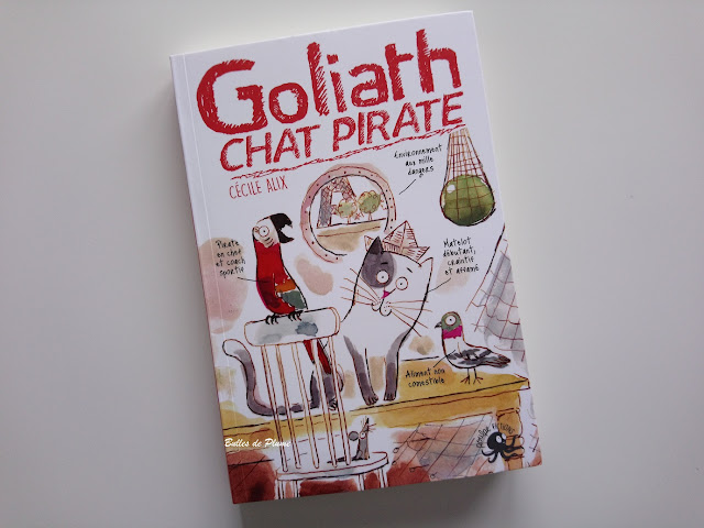 Goliath, Chat Pirate (nos amis les sales bêtes - volume 3) Poulpe Fictions
