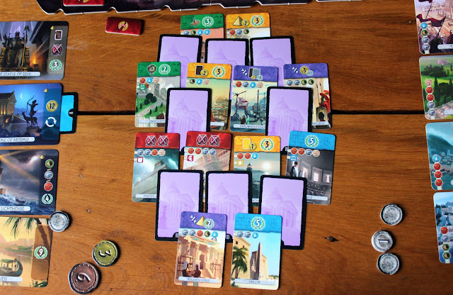 7 Wonders: Duel review - third age cards