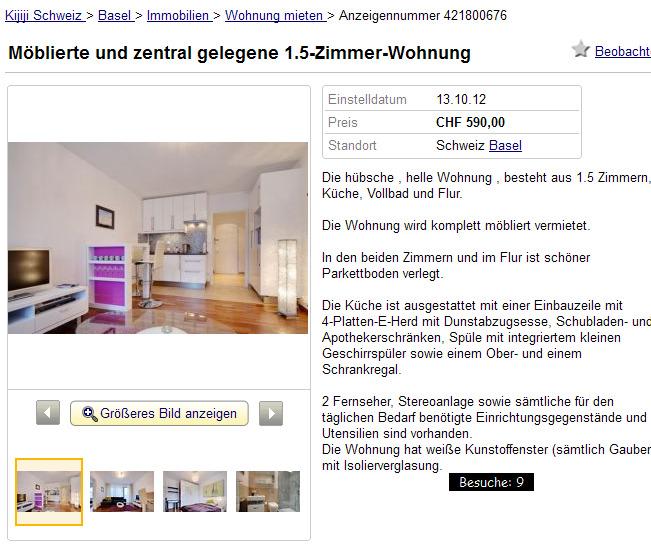 m blierte und zentral. Black Bedroom Furniture Sets. Home Design Ideas
