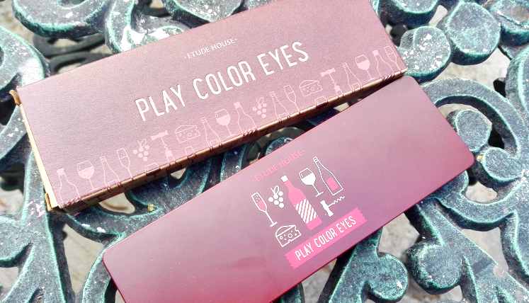 Review Etude House Play Color Eyes Wine Party