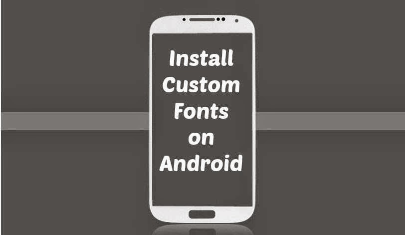 how to install custom fonts on your android phone rs tutorial bd
