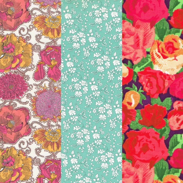 CLEARANCE YARD  COUNTRY ROSE  FLOWERS BLOSSOM PATCHWORK SHAPES DESIGN FABRIC