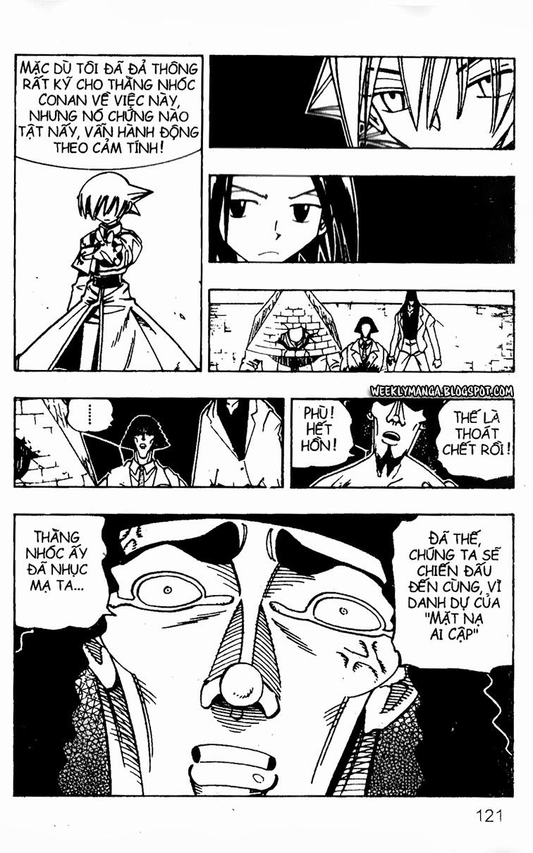 Shaman King [Vua pháp thuật] chap 122 trang 21