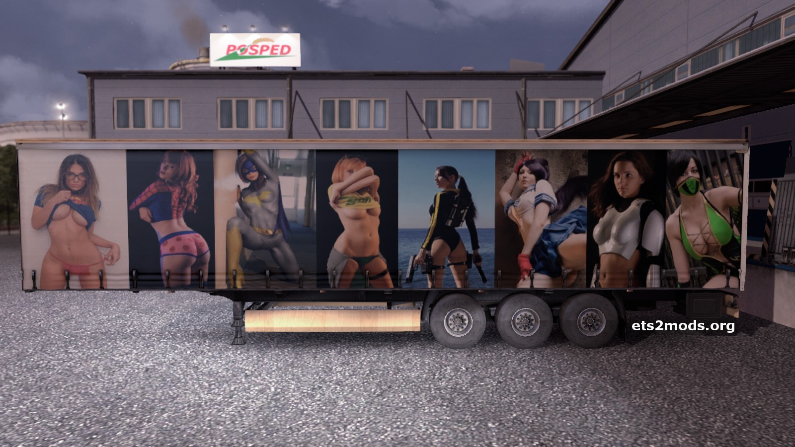 The Cosplay Trailer ets2