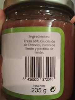 mermelada sin azucar