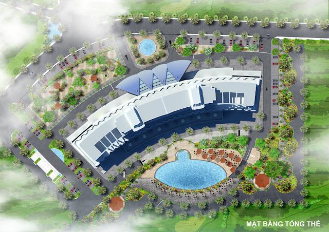 Phối cảnh mặt bằng thiết kế dự án The K Park Văn Phú