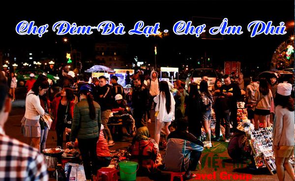 Chợ đêm Đà Lạt - chợ Âm Phủ
