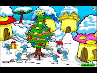 Help the #Smurfs escape the evil clutches of #Gargamel on #ChristmasEve!