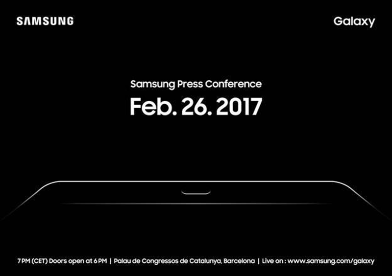 Samsung Galaxy Tab S3 Teased!