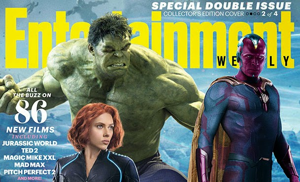 Entertainment Weekly Summer Preview Has 4 AVENGERS: AGE OF ...
