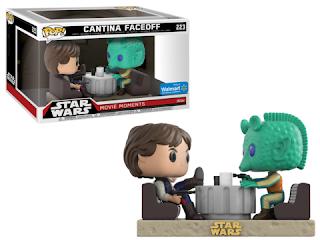 Pop! Star Wars: Movie Moments - Han Solo & Greedo.