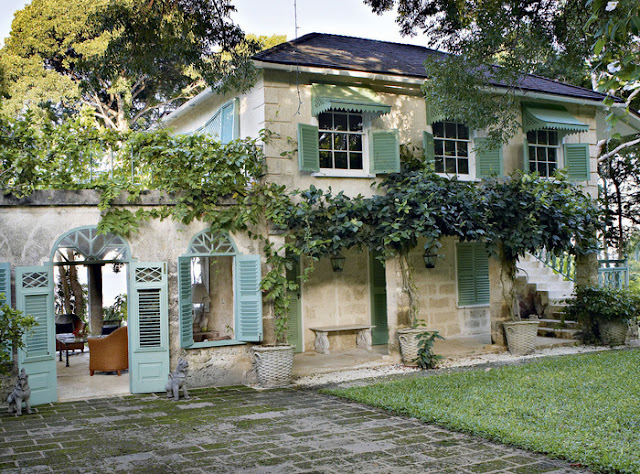 Dean farris style fustic house barbados for Provence homes