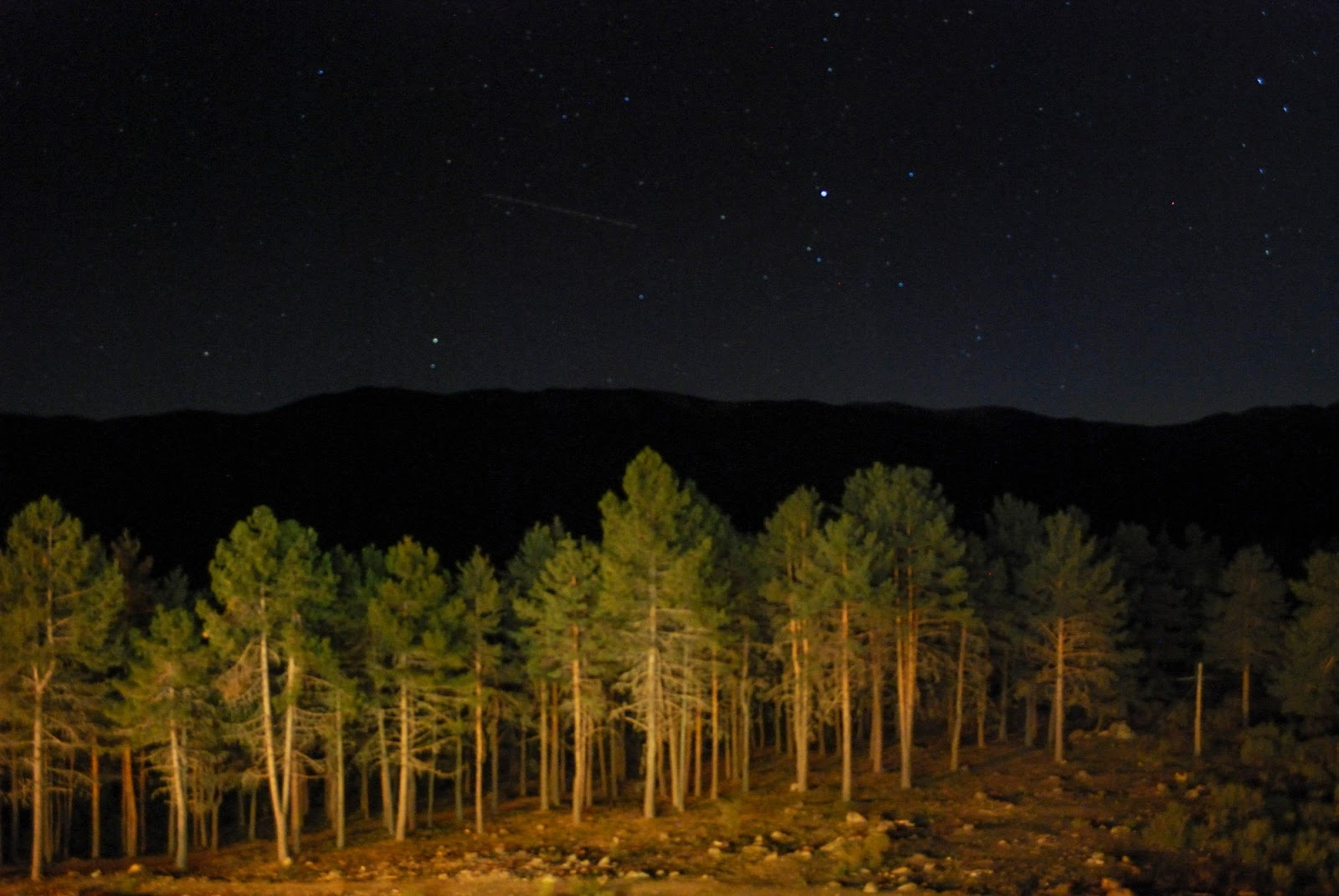 sierra parador gredos stars night astronomy estrellas astronomia