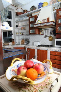Decoración cocina mediterránea