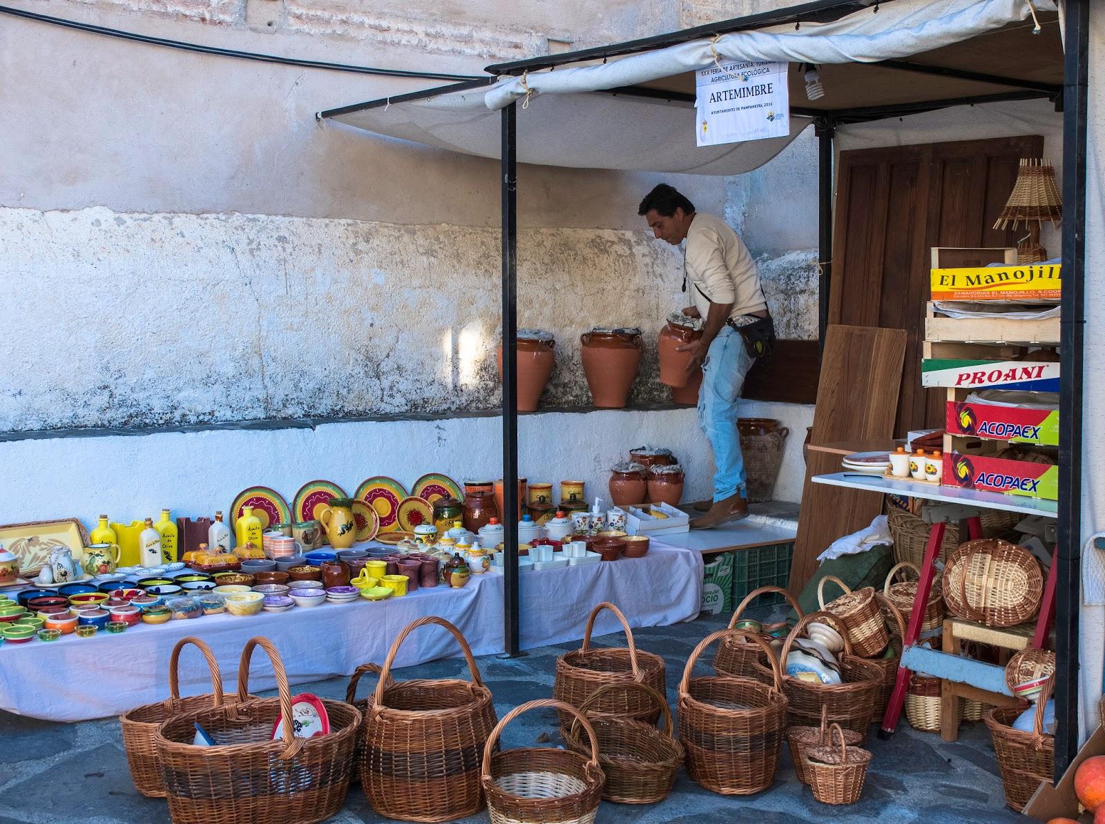 Quiosco en La Alpujarra de Granada, 2016