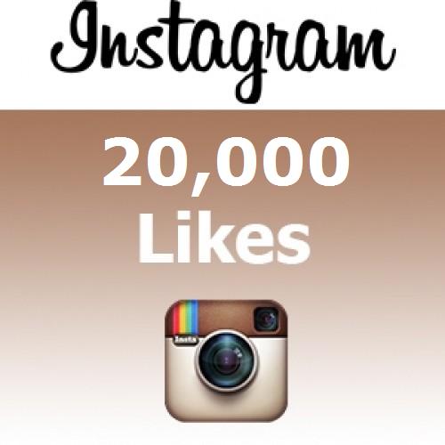 Buy 20000 Instagram Likes