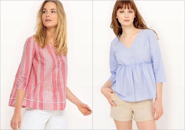 472648eddc2c Εκπτώσεις έως 60% σε γυναικείες μπλούζες σε επώνυμες μάρκες ...