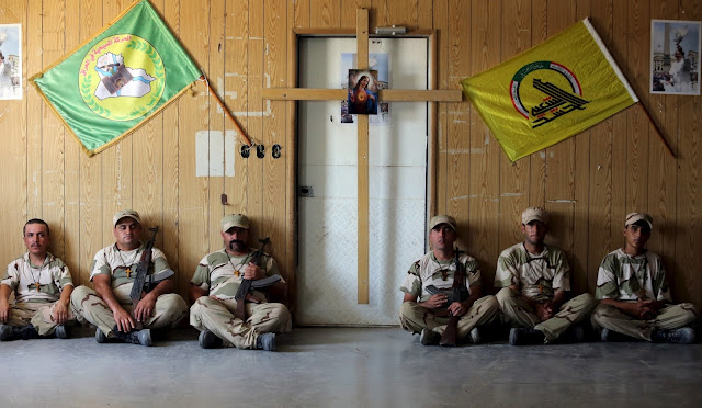 Sekelompok orang-orang Kristen di Irak membentuk kelompok milisi melawan ISIS. Mereka menamakan diri kelompok Brigade Babylon.