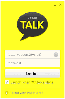 KakaoTalk Sign Up