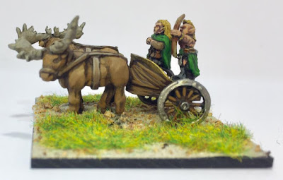 10mm FEF601 Wood Elf Chariot