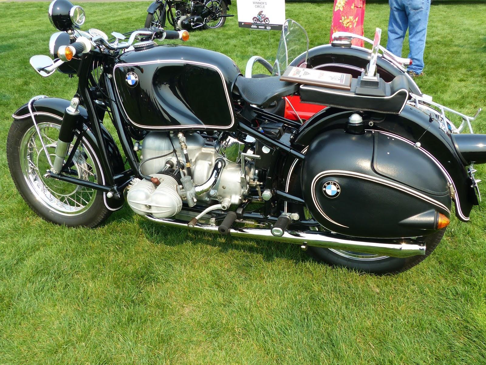 """BMW Birmingham Al >> OldMotoDude: 1969 BMW R69 with Sidecar on display at """"The Meet"""" 2015 Vintage Motorcycle Festival ..."""