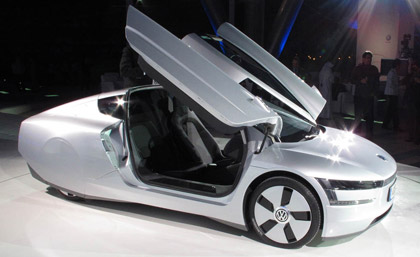 mechanical world the world 39 s most fuel efficient car volkswagen xl1. Black Bedroom Furniture Sets. Home Design Ideas