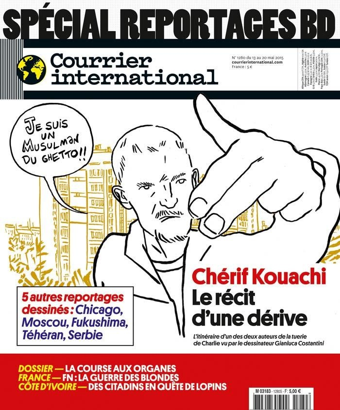 Spécial Reportage BD - Courrier International (France)