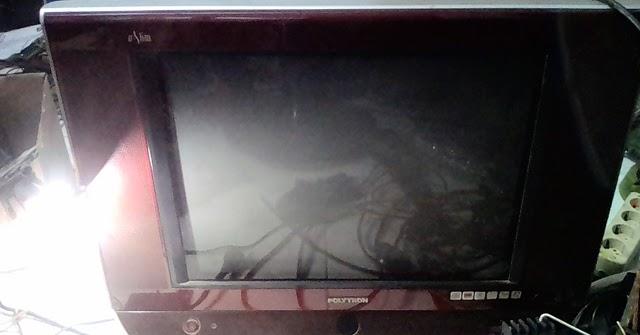 Cara Mudah Pasang Gacun Tv Polytron U-slim 21 U0026quot